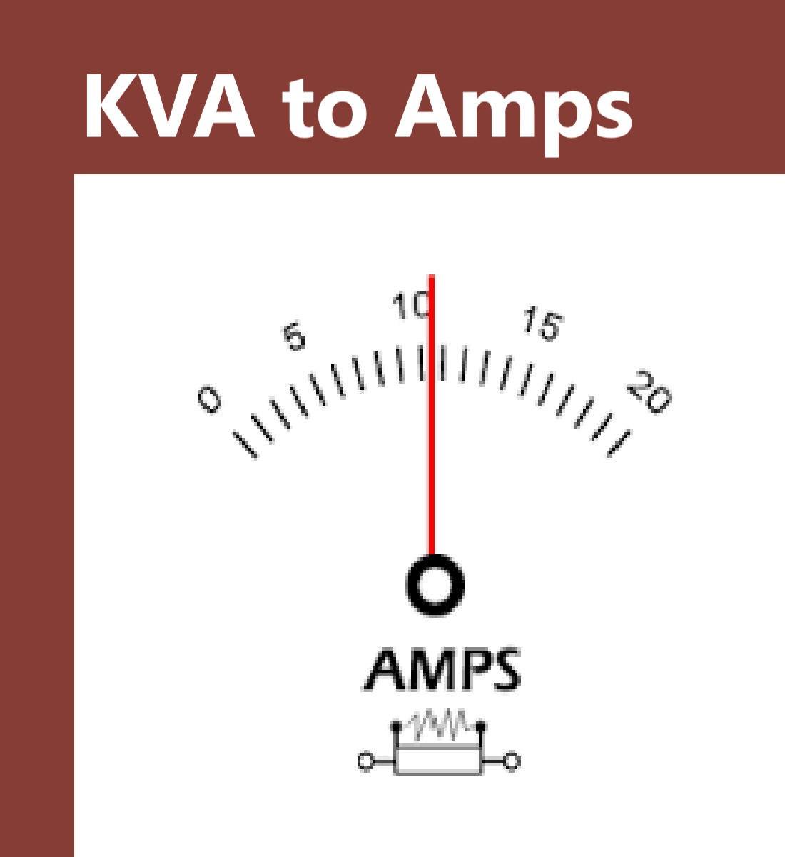 KVA to Amps Calculator